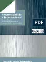 La Responsabilidad Internacional