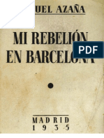 Mi Rebelion en Barcelona
