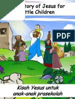 Kisah Yesus Untuk Anak-Anak Prasekolah - The Story of Jesus for Preschoolers