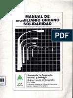 Manual de Mobiliaio Urbano Solidaridad