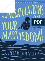 Congratulations on Your Martyrdom! (Excerpt)
