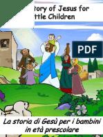 La Storia Di Gesù Per i Bambini in Età Prescolare - The Story of Jesus for Preschoolers