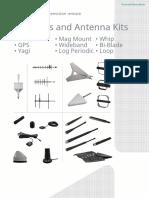 especificaciones de antenas