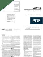 Maxsys PC4164-433 V3.0 - Manual Instalare.pdf