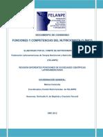 Felanpe Consenso Funciones y Competencias Del Nutricionistas Clinico Ucss 2012