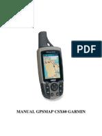 Manual Bahasa Indonesia GPSMAP CSX60 Garmin