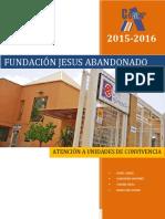 Trabajo Fundación Jesús Abandonado 2015-2016
