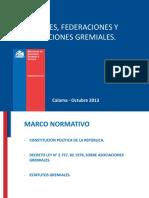 Asociaciones Federaciones y Confederaciones Gremiales1