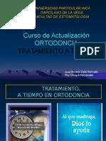 ORTODONCIA - Tratamiento Ortodoncico en Dentición Mixta