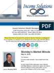 Monday's Market Minute 5-31-16