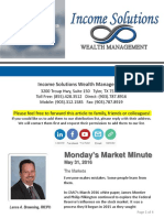 Monday's Market Minute 5-31-16