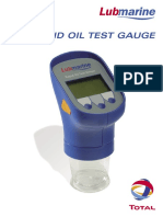 Lubmarine Rapid Oil Test Gauge (UK)