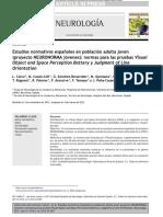 Estudios Normativos Espanoles en Población Adulta Joven-1