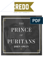 Prince of Puritans-John Owen