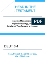 Supernatural Worldview Godhead in the OT - Michael Heiser