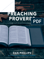 Preaching Proverbs by Dan Phillips