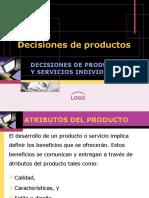 Decisiones de Productos