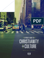 Pocket Guide to Christianity and Culture by Bruce Ashford