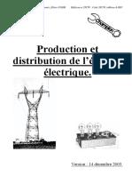 Production Et Distribution de l'Énergie Électrique