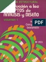 Introduccion a Los Conceptos de Analisis y Diseño Volumen Uno