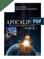 Exegesís libro de Apocalipsis