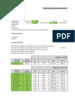 PREDIMENSIONAMIENTO DE ELEMENTOS ESTRUCTURALES (PARA ANALISIS).xlsx