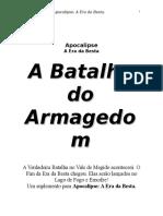Apocalipse - Batalha Do Armagedom (Suplemento rpg)