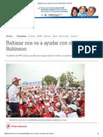 05-26-2016 Baltazar Nos Va a Ayudar Con Obras_ Neto Robinson