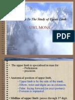 01 Introduction Upper Limb