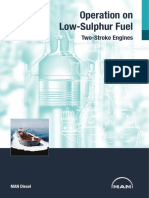 Operation on Low-sulphur Fuel