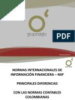 Principales Diferencias Entre Niif vs Coe