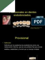 Provisionales en Protesis Fija