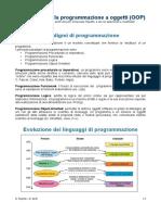 Introduzione Alla Programmazione a Oggetti
