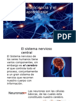 La Neurociencia y El Aprendizaje.