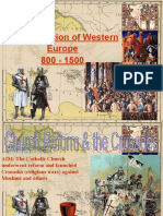 formation of western europe - students