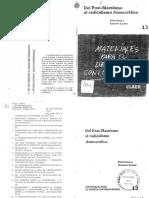 4-Laclau - Del Post-marxismo Al Radicalismo Democrático