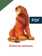 El Leon Es Carnivoro