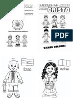 Crianças Do Mundo Para Cristo - Revista Para Colorir