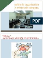 Administracion de un centro de computo