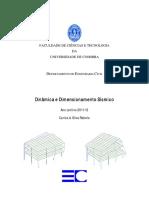 Dinâmica de Estruturas_Carlos Rebelo_2011-2012