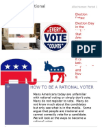 voting newsletter