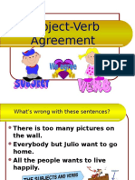 Verb Subjagree
