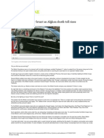 July 7, 2009 - Welsh Guards Bear Brunt as Afghan Death Toll Rises