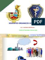 2.2 Solventes Organicos Volatiles