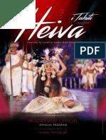 Livret bilingue du Heiva i Tahiti 2016