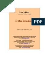 De Milloué Léon-Joseph - Le Brahmanisme