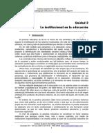 PSICOPEDAGOGIA INSTITUCIONAL 2