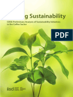 COSA Seeking Sustainability