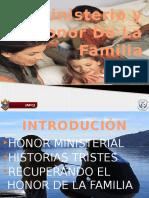 3  El Ministerio y el Honor De La Familia.pptx