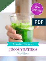 Book Gratuito Jugos y Batidos Reto Batidos Julio